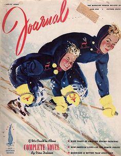 Mar 1942 Ladies Home Journal   Al Parker Cover