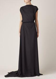 Ann Demeulemeester Infinity Dress (Black)