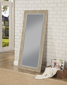 d6ebef435e77 The worn Antique Turquoise finish of the farmhouse full length mirror  collection adds timeless country style. Leaner MirrorMirrors ...