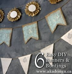 diy banners and buntings
