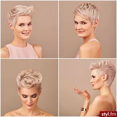 Today we have the most stylish 86 Cute Short Pixie Haircuts. We claim that you have never seen such elegant and eye-catching short hairstyles before. Pixie haircut, of course, offers a lot of options for the hair of the ladies'… Continue Reading → Short Pixie Haircuts, Pixie Hairstyles, Short Hair Cuts, Cool Hairstyles, Short Hair Styles, Ladies Hairstyles, Oval Face Haircuts, Haircut Short, Blonde Hairstyles
