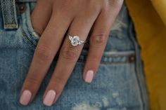 Oval Diamond Engagement Ring, Carats with Pear Shaped Side Stones , White Gold Diamond Ring, Engagement Ring Pear Cut Engagement Rings, Vintage Gold Engagement Rings, Gold Diamond Wedding Band, Trilogy Engagement Ring, Timeless Engagement Ring, Solitaire Engagement, Wedding Bands, How To Pose, Ring Verlobung