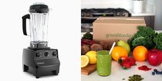 Enter to win a Vitamix blender and an entire month of Green Blender! Green Blender sends all the pre-portioned ingredients and superfoods to make smoothies at home.