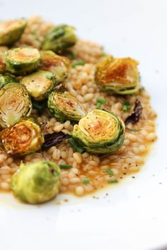 Risotto is an elevateddish with rusticorigins, and is thought to  originate from the rice growing regions ofnorthern Italy. Whilerisotto is  often associated with fine dining and classic technique,it does not  haveto be an intimidating dish. The basic idea behind risottois slowly  simmering and stirring a grain in broth to release its creamy  texture.While risottos often call for arborio or other specialty rices,  the technique can be used with many different grains.Barley Risotto…