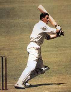 Keith Miller (Australia.) Made 3 Ashes Test centuries. During WWII he was a fighter pilot with The Royal Australian Air Force.