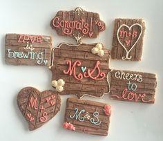 wood plank cookies