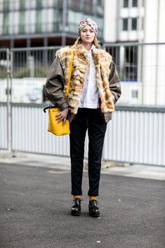 Paris Fashion Week Street Style Fall 2015 | POPSUGAR Fashion