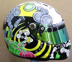 Arai Custom Design Kart Helmet #150 ~ Hand Painted Helmets - Design your helmet today..!!