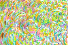The Waves Process Art, Colorful, Illustration, Waves, Painting, Painting Art, Paintings, Illustrations, Ocean Waves