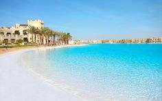 6 of the World's Biggest Pools: Crystal Lagoon, Egypt