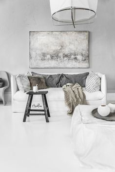 Home Decoration Online Stores Living Room Designs, Living Room Decor, Living Spaces, Grey Interior Doors, Deco Boheme, Rustic Interiors, Soft Furnishings, Home And Living, Farmhouse Decor