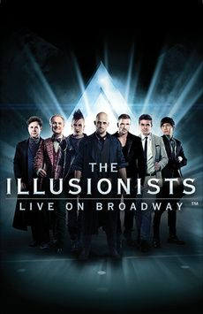 The Illusionists, Neil Simon Theatre, NYC Show Poster