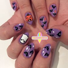 More amaze Halloween nails  #melbournenailart #sydneynailart #IScreamNails