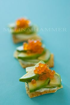 bright hors d'oeuvres by mwhammer, via Flickr