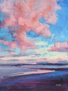 Pastel painting by Karen Margulis