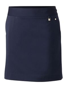 """Check out what #lorisgolfshoppe has for your days on and off the golf course: Black  Cutter & Buck Ladies DryTec™ 18"""" Coast Golf Skort!"""