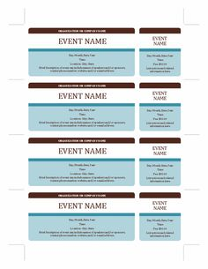 Event Tickets   Templates   Office.com  Free Event Ticket Templates For Word