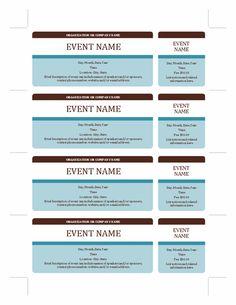 raffle tickets template vAy2PzOp   Sports   Pinterest   Ticket ...