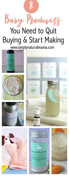 I loved this article! Babies are so expensive, and it is awesome to know that I can make virtually every baby care product myself and save a ton of money! via @simplynaturalma