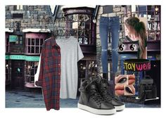 """""""Annabelle's Hogsmeade outfit"""" by allybali ❤ liked on Polyvore featuring Citizens of Humanity, rag & bone, Gucci, Organic by John Patrick, Monki and Accessorize"""
