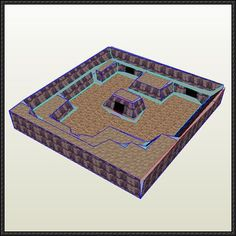 Pokemon R/S/E - Seafloor Cavern Diorama Free Papercraft Download