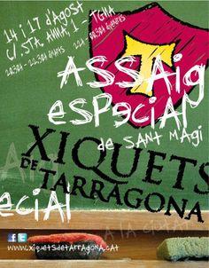 Assaig especial Sant Magí 2012. Xiquets de Tarragona.