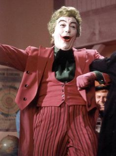 "Cesar Romero as The Joker in ""Batman, The Movie"" (1966)"