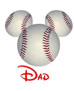 Disney TShirt Iron on BaseballMickey by AreWeThereYetDesigns, $5.00