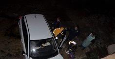 Bursa'da dereye uçan otomobilde can pazarı: 1 ölü, 1 yaralı
