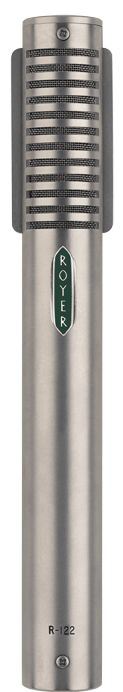 Royer R-122 Active Ribbon Microphone - used in combination with sE Reflexion Filter to record vocals on location
