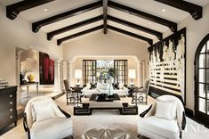 An Expansive Mediterranean Paradise Valley Retreat | LuxeWorthy - Design Insight from the Editors of Luxe Interiors + Design