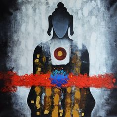 """""""To stand alone against all adversity is the most sacred moment of existence."""" ~ Frank Herbert Artist: Om Swami Title: The Rebirth of Buddha ॐ lis"""