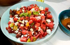 NYT Cooking: Tomato-and-Watermelon Salad