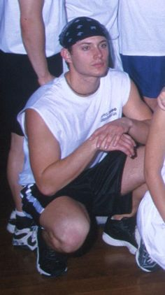 Jensen in high school