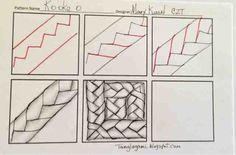 kooke tangle pattern - Google Search
