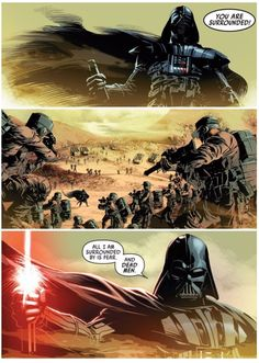 What Is Your Favorite Single Comic Book Panel? Darth Vader