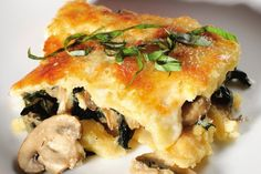 Vegetarian Recipe: Stuffed and Baked Polenta