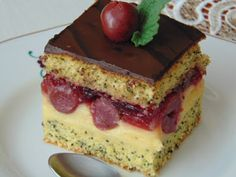 Poppy Cake, Cukor, Cheesecake, Food, Meal, Cheese Cakes, Eten, Cheesecakes, Meals