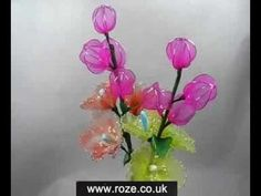 Mesh Nylon Flowers (SW008)