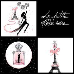 Parfum du Jour - La Petite Robe Noire Eau de Couture de Guerlain Assurez-vous que tous les regards soient braqués sur vous pour la plus festive des soirées avec la plus glamour des robes : La Petite Robe Noire Eau de Couture. Une interprétation fascinante où framboise souriante, pluie de pétales et bois devraient faire tourner les têtes et combler toutes les attentes... Eau de Parfum 50ml : 180dt000 #Fatales #ParfumduJour #LaPetiteRobeNoireEaudeCouture #Guerlain
