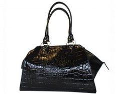 Luxusná kožená lakovaná kabelka č.8616 v čiernej farbe Rebecca Minkoff, Bags, Fashion, Handbags, Moda, Fashion Styles, Fashion Illustrations, Bag, Totes