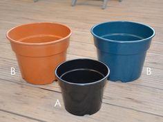 biologisk nedbrytbar potte A. Diameter 25 cm, 7 lit. B. Diameter 31 cm, 15 lit.
