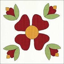 Resultado de imagen para rose of sharon en patchwork