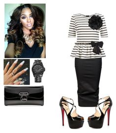 """Cogic Fashion"" by cogic-fashion ❤ liked on Polyvore featuring Rick Owens, Christian Louboutin, Dorothy Perkins, Other and Juicy Couture"