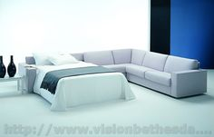 Modern sectional sofa bed image