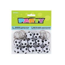 ATZ Soccer Birthday 3in Pick Candles 6//Pack
