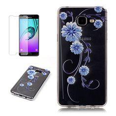 Yrisen 2in 1 Samsung Galaxy A3 2016 Hülle Silikon Schutzh…