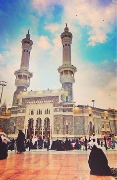 Entrance to Masjid Al-Haram in Makkah, Saudi Arabia