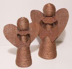 Adornos de navidad: figuras de angeles