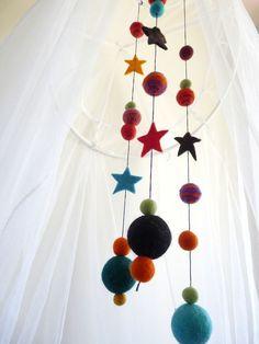 Estrelas e bolinhas feltradas
